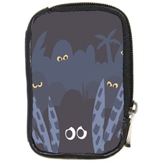 Ghost Halloween Eye Night Sinister Compact Camera Cases by Mariart