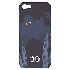 Ghost Halloween Eye Night Sinister Apple Iphone 5 Hardshell Case by Mariart