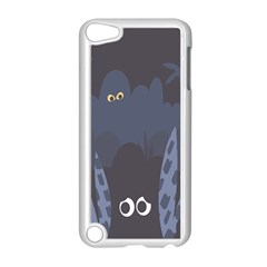 Ghost Halloween Eye Night Sinister Apple Ipod Touch 5 Case (white) by Mariart