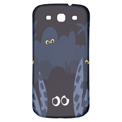 Ghost Halloween Eye Night Sinister Samsung Galaxy S3 S Iii Classic Hardshell Back Case by Mariart