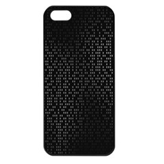 Gray Plaid Black Apple Iphone 5 Seamless Case (black) by Mariart