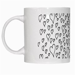 Heart Doddle White Mugs by Mariart