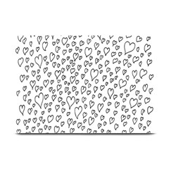 Heart Doddle Plate Mats by Mariart