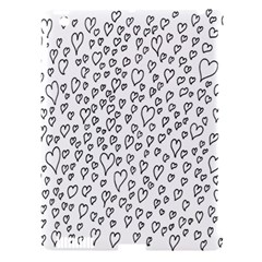 Heart Doddle Apple Ipad 3/4 Hardshell Case (compatible With Smart Cover)