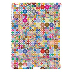 Circle Rainbow Polka Dots Apple Ipad 3/4 Hardshell Case (compatible With Smart Cover) by Mariart