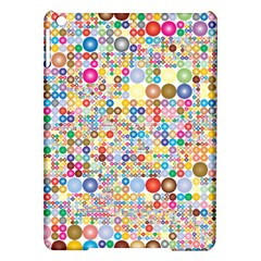 Circle Rainbow Polka Dots Ipad Air Hardshell Cases