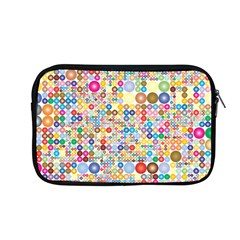 Circle Rainbow Polka Dots Apple Macbook Pro 13  Zipper Case by Mariart