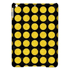 Circles1 Black Marble & Yellow Colored Pencil (r) Ipad Air Hardshell Cases by trendistuff