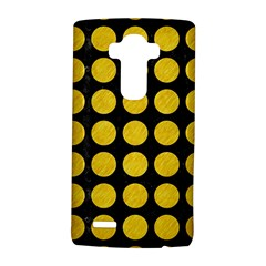 Circles1 Black Marble & Yellow Colored Pencil (r) Lg G4 Hardshell Case by trendistuff
