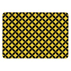 Circles3 Black Marble & Yellow Colored Pencil Samsung Galaxy Tab 8 9  P7300 Flip Case by trendistuff