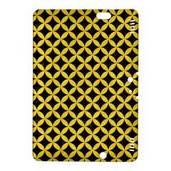 Circles3 Black Marble & Yellow Colored Pencil (r) Kindle Fire Hdx 8 9  Hardshell Case by trendistuff
