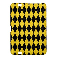 Diamond1 Black Marble & Yellow Colored Pencil Kindle Fire Hd 8 9  by trendistuff