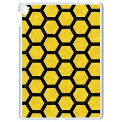 Hexagon2 Black Marble & Yellow Colored Pencil Apple Ipad Pro 9 7   White Seamless Case by trendistuff