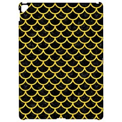 Scales1 Black Marble & Yellow Colored Pencil (r) Apple Ipad Pro 12 9   Hardshell Case by trendistuff