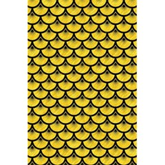 Scales3 Black Marble & Yellow Colored Pencil 5 5  X 8 5  Notebooks by trendistuff