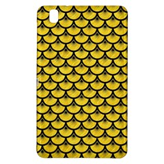 Scales3 Black Marble & Yellow Colored Pencil Samsung Galaxy Tab Pro 8 4 Hardshell Case by trendistuff