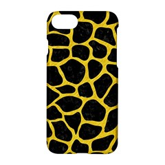 Skin1 Black Marble & Yellow Colored Pencil Apple Iphone 7 Hardshell Case by trendistuff