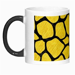 Skin1 Black Marble & Yellow Colored Pencil (r) Morph Mugs