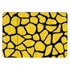 Skin1 Black Marble & Yellow Colored Pencil (r) Samsung Galaxy Tab 8 9  P7300 Flip Case by trendistuff