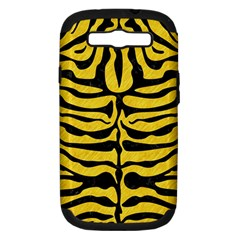 Skin2 Black Marble & Yellow Colored Pencil Samsung Galaxy S Iii Hardshell Case (pc+silicone) by trendistuff