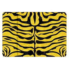 Skin2 Black Marble & Yellow Colored Pencil Samsung Galaxy Tab 8 9  P7300 Flip Case by trendistuff
