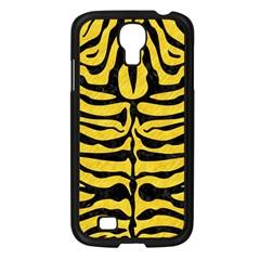 Skin2 Black Marble & Yellow Colored Pencil Samsung Galaxy S4 I9500/ I9505 Case (black) by trendistuff