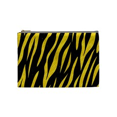 Skin3 Black Marble & Yellow Colored Pencil (r) Cosmetic Bag (medium)  by trendistuff