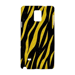 Skin3 Black Marble & Yellow Colored Pencil (r) Samsung Galaxy Note 4 Hardshell Case by trendistuff