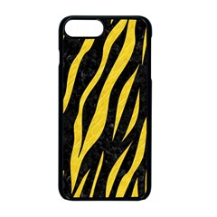 Skin3 Black Marble & Yellow Colored Pencil (r) Apple Iphone 8 Plus Seamless Case (black)