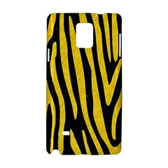 Skin4 Black Marble & Yellow Colored Pencil Samsung Galaxy Note 4 Hardshell Case by trendistuff