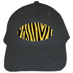 Skin4 Black Marble & Yellow Colored Pencil (r) Black Cap by trendistuff