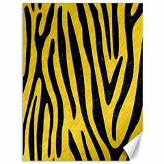 Skin4 Black Marble & Yellow Colored Pencil (r) Canvas 36  X 48   by trendistuff