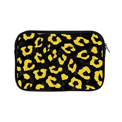 Skin5 Black Marble & Yellow Colored Pencil Apple Ipad Mini Zipper Cases by trendistuff