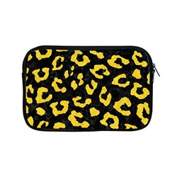 Skin5 Black Marble & Yellow Colored Pencil Apple Macbook Pro 13  Zipper Case by trendistuff