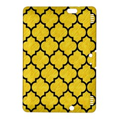 Tile1 Black Marble & Yellow Colored Pencil Kindle Fire Hdx 8 9  Hardshell Case