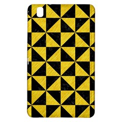 Triangle1 Black Marble & Yellow Colored Pencil Samsung Galaxy Tab Pro 8 4 Hardshell Case by trendistuff