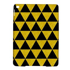 Triangle3 Black Marble & Yellow Colored Pencil Ipad Air 2 Hardshell Cases by trendistuff
