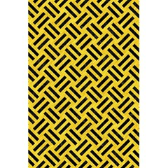 Woven2 Black Marble & Yellow Colored Pencil 5 5  X 8 5  Notebooks by trendistuff