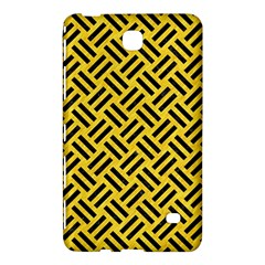 Woven2 Black Marble & Yellow Colored Pencil Samsung Galaxy Tab 4 (8 ) Hardshell Case  by trendistuff