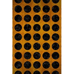 Circles1 Black Marble & Yellow Grunge 5 5  X 8 5  Notebooks by trendistuff