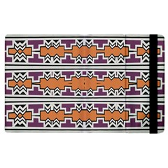 Purple And Brown Shapes                            Kindle Fire (1st Gen) Flip Case by LalyLauraFLM