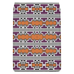 Purple And Brown Shapes                            Samsung Galaxy Grand Duos I9082 Hardshell Case by LalyLauraFLM