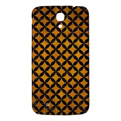 Circles3 Black Marble & Yellow Grunge Samsung Galaxy Mega I9200 Hardshell Back Case by trendistuff