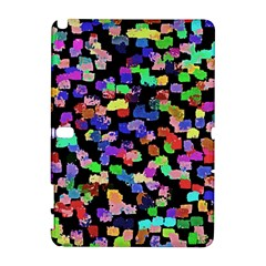 Colorful Paint Strokes On A Black Background                          Htc Desire 601 Hardshell Case by LalyLauraFLM