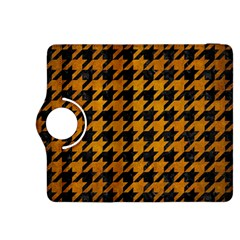 Houndstooth1 Black Marble & Yellow Grunge Kindle Fire Hdx 8 9  Flip 360 Case by trendistuff