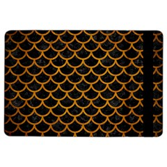 Scales1 Black Marble & Yellow Grunge (r) Ipad Air 2 Flip by trendistuff