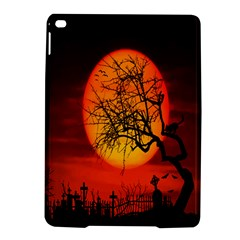 Helloween Midnight Graveyard Silhouette Ipad Air 2 Hardshell Cases by Mariart