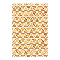 Food Pizza Bread Pasta Triangle Shower Curtain 48  X 72  (small)  by Mariart