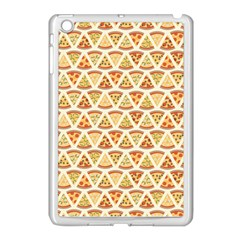 Food Pizza Bread Pasta Triangle Apple Ipad Mini Case (white) by Mariart