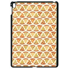 Food Pizza Bread Pasta Triangle Apple Ipad Pro 9 7   Black Seamless Case by Mariart